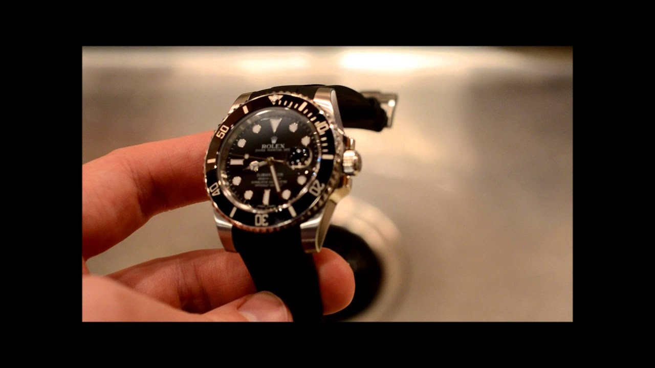 Rolex Submariner Rubber Strap a Rubber B Strap for Rolex