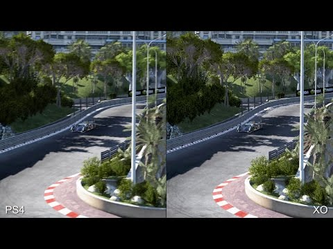 [60fps] Project Cars PS4 vs Xbox One Real-Time Comparison