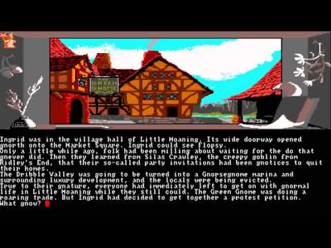 Amiga Ocs Ingrid's Back! 3 Gameparts Little Moaning Steamroller At Dawn& Ridley's End1988level9crwow video