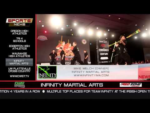THE SPORTS NEWS | Infinity Martial Arts | Mike Welch