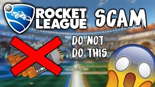 WATCH OUT! NEW SCAM IN ROCKET LEAGUE