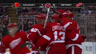 Pavel Datsyuk 2 beauty goals against the Flames