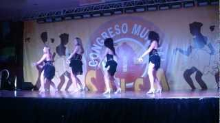 Salsa Caliente Ladies Team at the 2012 Puerto Rico Salsa Congress