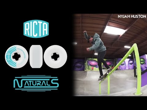 What wheels does Nyjah Huston ride? Pro Ricta Naturals