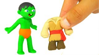 FUNNY KIDS WEAR PIRATE COSTUMES ❤ Play Doh Cartoons For Kids