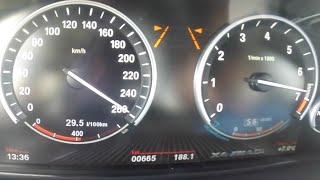 0-260 km/h 2016 BMW X4 M40i 3.0 i6 Turbo 360 HP Acceleration & TOP SPEED
