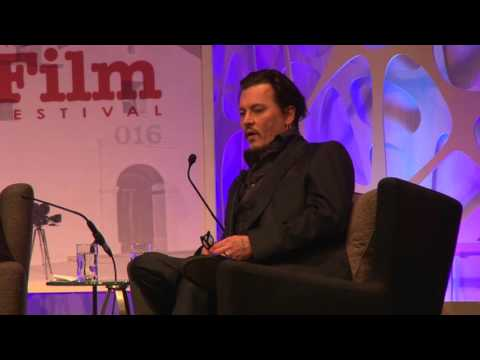 SBIFF 2016 - Johnny Depp On Tim Burton & Edward Scissorhands