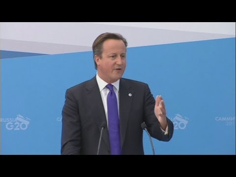 G20: David Cameron hails One Direction after 'Russia small island snub'