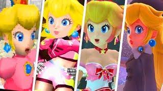 Evolution of Princess Peach Costumes (1985 - 2019)