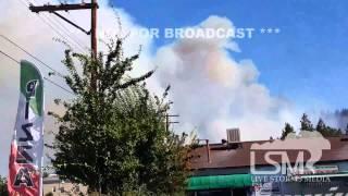 9/15/14 Weed, CA; Wildfire *David Plank HD*
