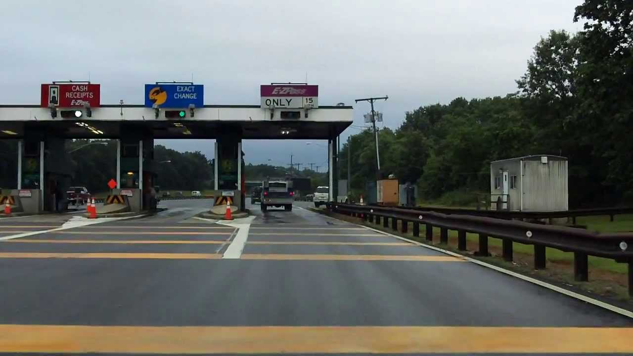 Garden State Parkway Exit 98 Southbound Youtube