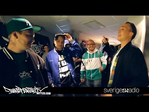 Basementality Battles: O-Hund / Third Eye vs Shazaam / Jimmy Pistol (Live i Sveriges Radio)