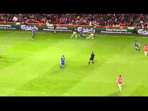 Marouane Fellaini vs Arsenal