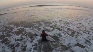 Surfing at Southerndown
