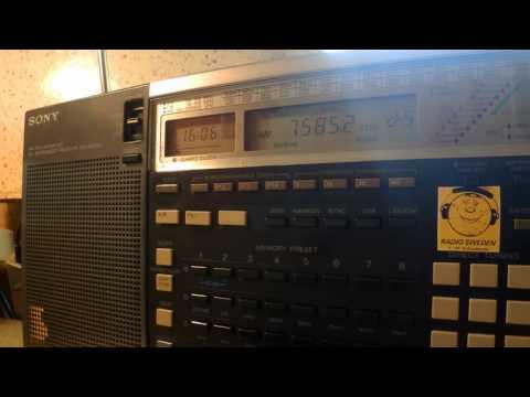 28 05 2016 Radio Latino in English to Eu 1605 on 7585 unknown tx site