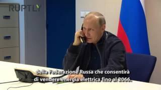 PTV News Speciale - Putin - Erdogan: Una svolta per il Turkish Stream