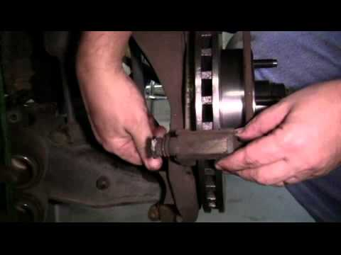 How to Replace the Front Brake Pads and Rotors on a 2002 Ford Ranger Edge