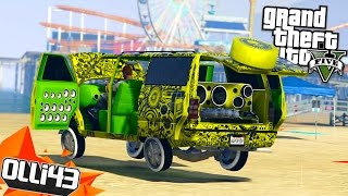 GTA 5 Lowrider DLC!! BIG GREEN AND LOUD! (GTA 5 Online Lowriders)