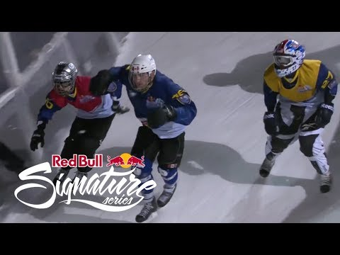 Red Bull Signature Series - Crashed Ice Sweden 2012 FULL TV EPISODE 3