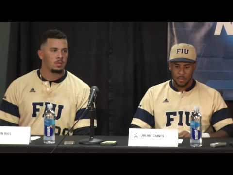 FIU Baseball - Post-Game Press Conference - Coral Gables Regional (May, 29, 2015)