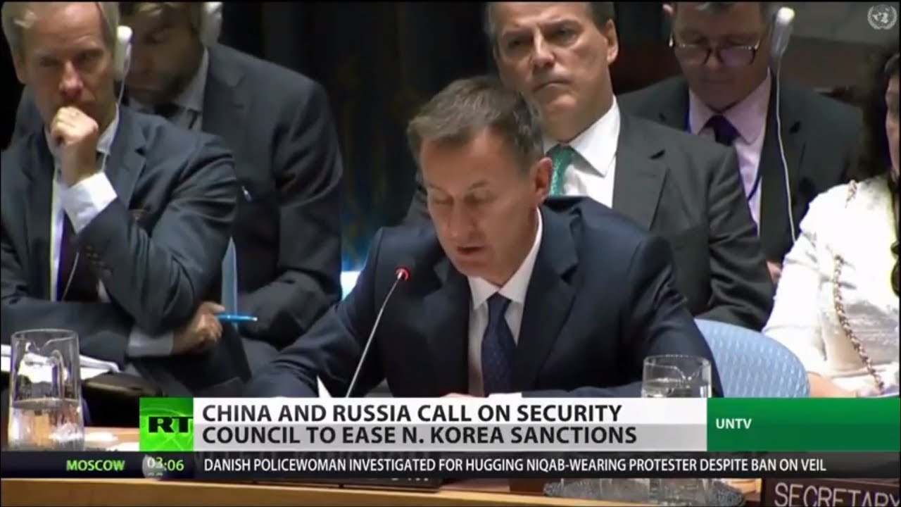 China, Russia Call on Security Council to Ease N. Korea Sanctions