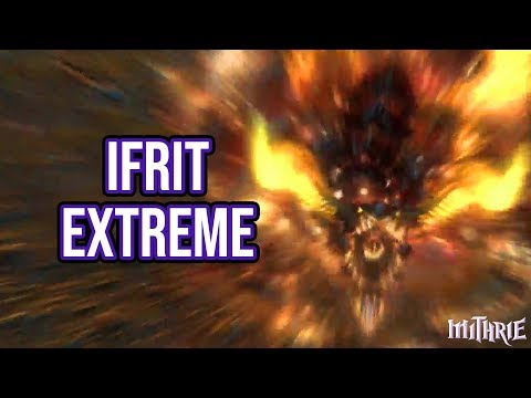 FFXIV A Realm Reborn - 169 - Ifrit Extreme (Bard)