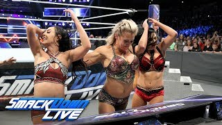 Charlotte Flair vs Peyton Royce SmackDown LIVE Nov