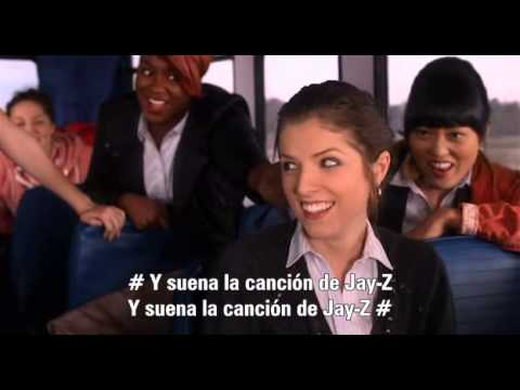 The Barden Bellas - Party in the U.S.A. (Pitch Perfect/Notas Perfectas) [Subtitu