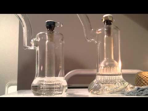 Luke Wilson 15 arm Bubbler VS Mobius Glassworks Matrix perc Bubbler