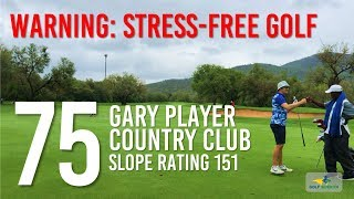 How to Break 80 off the Pro Tees Without Driver - 75 at Gary Player Country Club