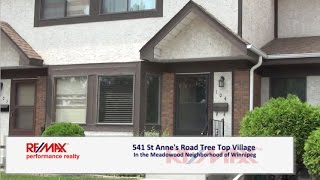 Condo for Sale at 541 St. Anne's Road in Winnipeg, Tree Top Village