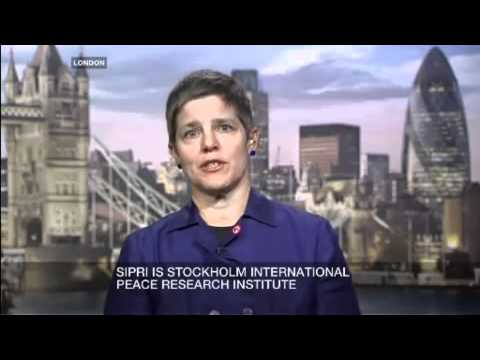 SIPRI Expert Dr Paul Holtom on Inside Story - Deadly industry - Al Jazeera - April 2009