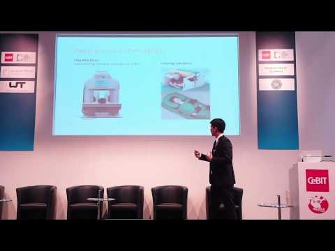 T.Jacket Presentation at CeBIT 2013 - Wearable Technologies Conference