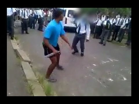 Secondary school pupils resort to carrying weapons thumbnail