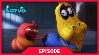 LARVA - SPIDER MAN LARVA | 2017 Cartoon Movie | Cartoons For Children | 라바 | LARVA Official