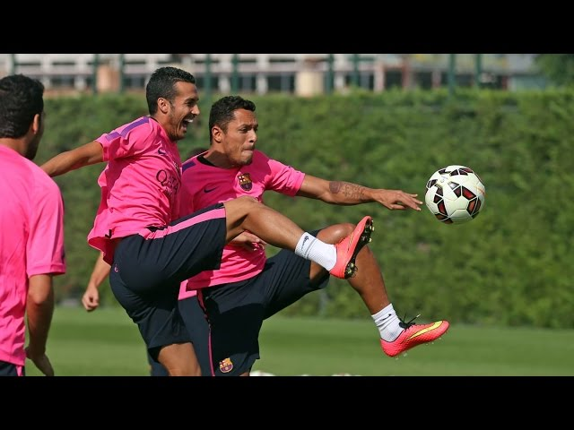 Pedro returns to training
