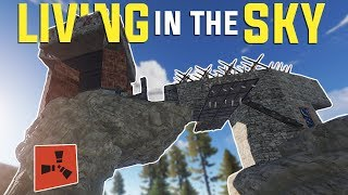 Rust -  LIVING on an ANVIL ROCK (Rust Raiding, PvP Highlights & More)