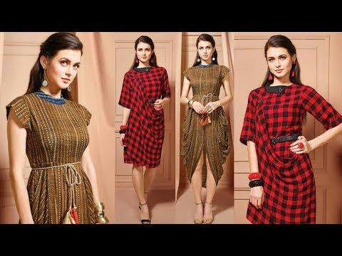Indo Western Outfits || Western Kurti Design || Indo Western Kurti Designs 2018 || Trendy India 2
