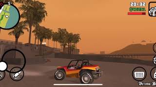 Driving A Motorsports vehicle in San Andreas for the first time (GTA San Andreas)