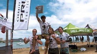 Imai Devault and Hi-Tech Surf Sports Wins the Hawaii Qualifier | Oakley Surf Shop Challenge 2018