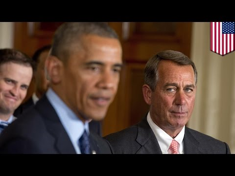 Obama vs Boehner: House of Representatives sues Obama over Obamacare