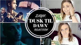 REACTION: ZAYN MALIK FEAT. SIA - DUSK TIL DAWN (NEW SONG & MV!)