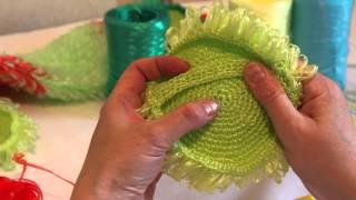 Нитки для вязания шоколадного цвета 37