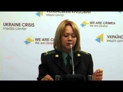 United briefing of ATO and Ministry of Defense speakers. Ukraine Crisis Media Center, 29-05-2015