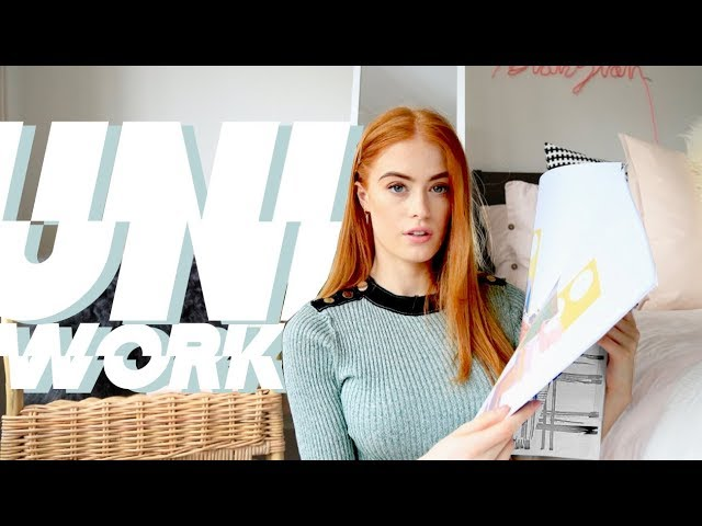 WHAT IT'S REALLY LIKE TO STUDY FASHION DESIGN AT UNI | MY EXPERIENCE | MsRosieBea thumbnail