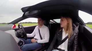 Girlfriend's Ferrari 458 Launch Control Reaction (169mph): Hilarious