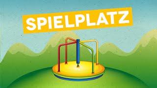 Deutsch lernen für Kinder und Kleinkinder: Auf dem Spielplatz (DEUTSCH)