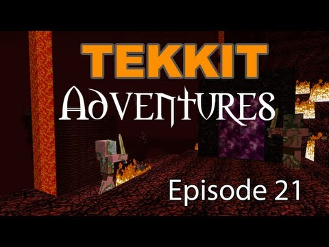 "Tekkit Adventures - Episode 21 ""Escape!"""