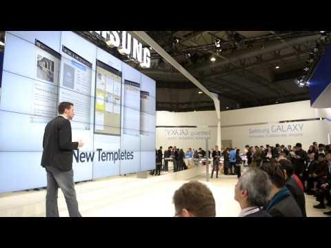 Samsung Galaxy Note 8.0 @ Mobile World Congress 2013 Barcelona