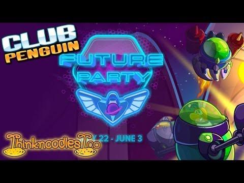 Club Penguin: Future Party Walkthrough